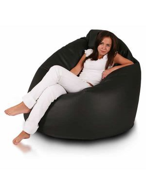 Tibetan Bean Bag Chair in Black