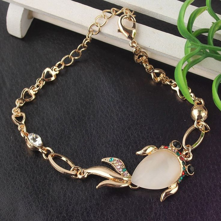 Beora Gold Plated #Goldfish #Bracelet Bangle Rs.599.00 only. We offer free shipping and Cash on Delivery (COD) all over the #India.