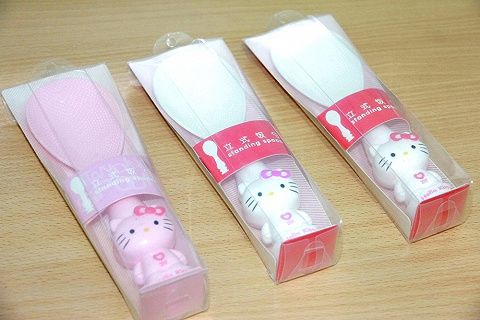 Sendok Nasi Hello Kitty Berdiri – Standing Spoon Hello Kitty