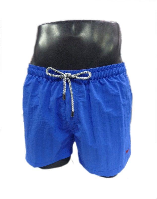 Bañadores para hombre Meyba, corte clásico, tono verde liso y vivos en rojo. Secado rápido. Bolsillos laterales. TALLA M a 3XL. Precio: 52,80€. http://www.varelaintimo.com/78-banadores
