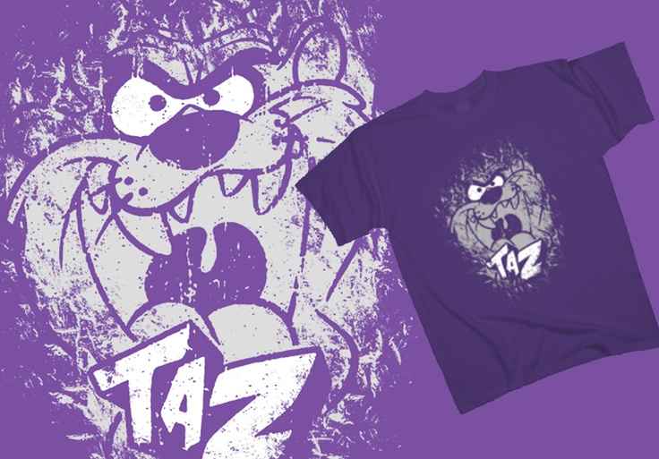 Taz - Mania http://www.toonshirts.com/products/looney-tunes/102-taz-mania