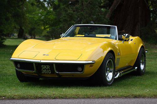 1969 Corvette Stingray Convertible Corvette Convertible