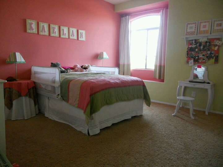 1000 images about hailey room on pinterest green girls for Pink and green girls bedroom