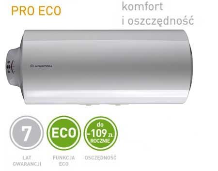 Inteligentny system ECO nowej gamy podgrzewaczy Ariston poznaje Twoje przyzwyczajenia: zapisuje w pamięci czas w którym potrzebna była ciepła woda i przygotowuje ją aby była dostępna w czasie i ilości jaką zwykle potrzebujesz minimalizując straty energii (obniżenie strat energii o 10%). Przez resztę czasu utrzymuje niezbędną rezerwę ciepłej wody.