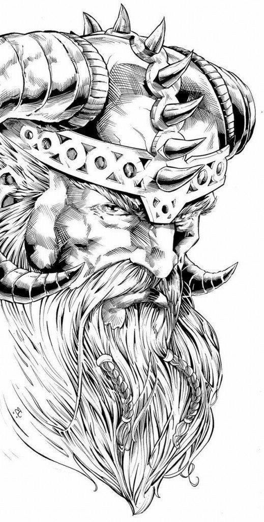 Barbarian | Mythology tattoos, Viking tattoos, Norse ...