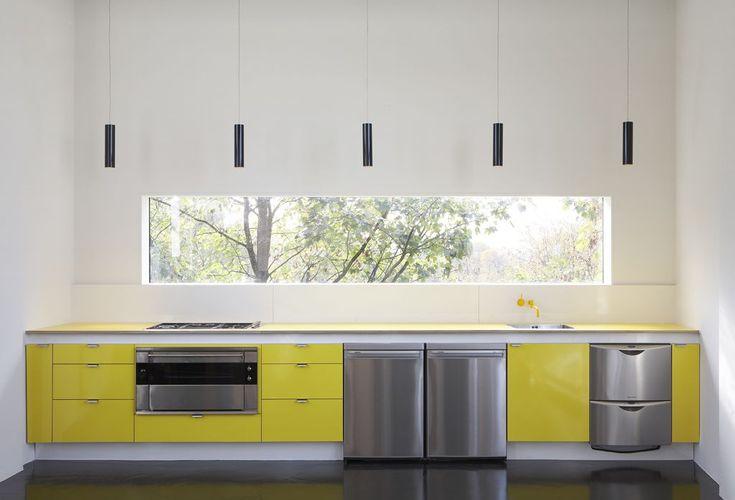 yellow kitchen, Waldo Works