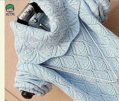 Красивый узор для свитера. Необычный узор спицами   Лаборатория домашнего хозяйства