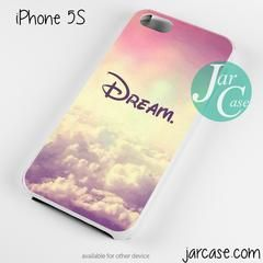 Disney Dream Phone case for iPhone 4/4s/5/5c/5s/6/6 plus - iPhone 4/4S / BLACK