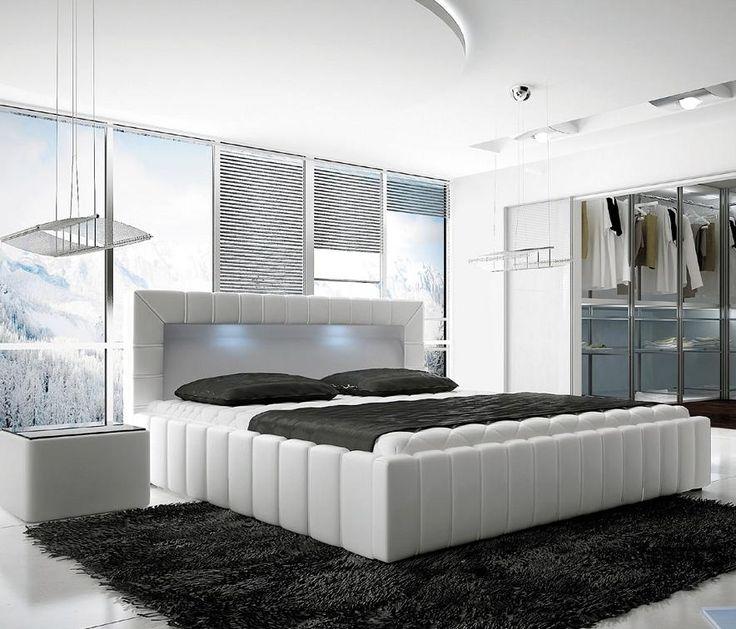 Łóżko tapicerowane LUCCA