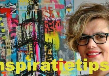 10 tips voor inspiratie tijdens schilderen van kunstenaar Janet Edens
