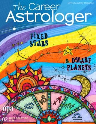 The Career Astrologer June 2016  OPA's summer solstice 2016 issue Special topic Fixed Stars & Dwarf Planets