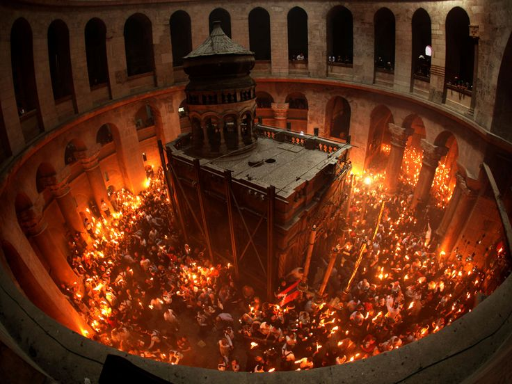 Church of the Holy Sepulchre. Jerusalem. One of my favorite places in the Old City.