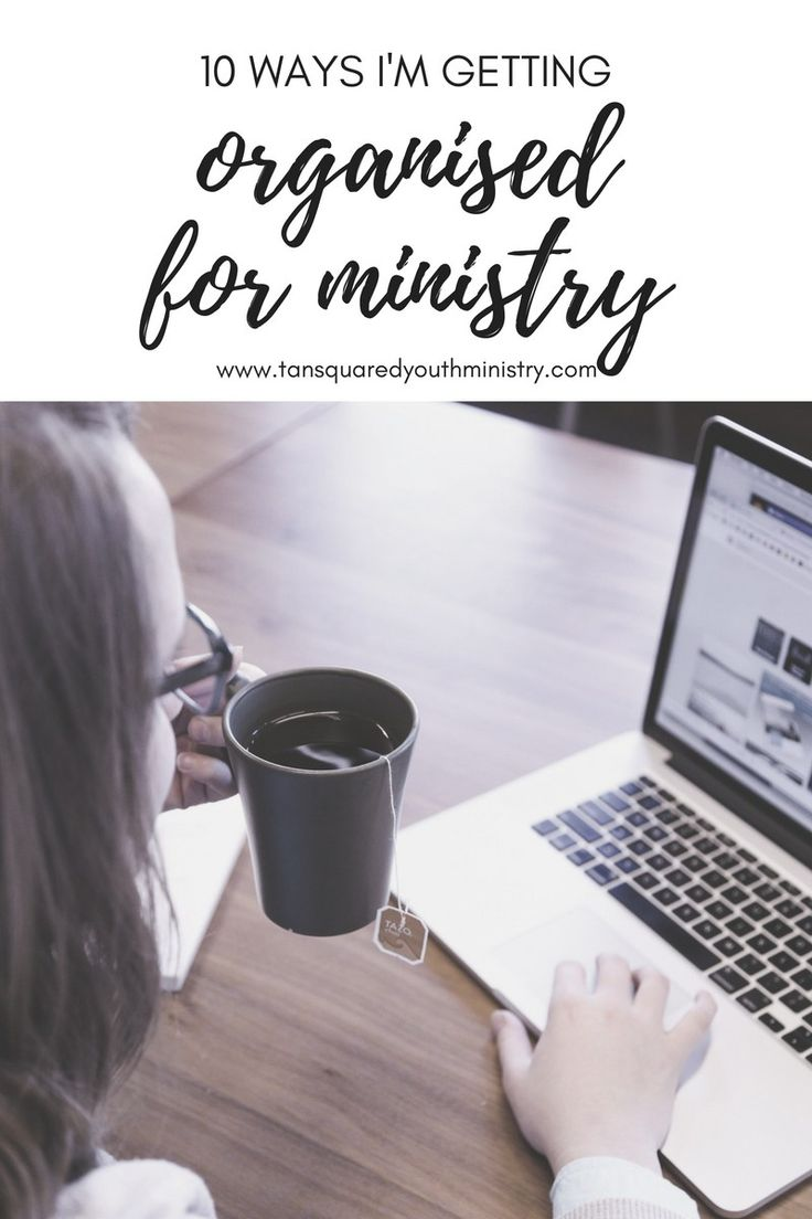 Being organised in advance is important for ministry so that you don't waste your time or others'. Planning ahead and decluttering are two of the ways I'm getting organised for ministry this year. Click through to see more! Tansquared Youth Ministry