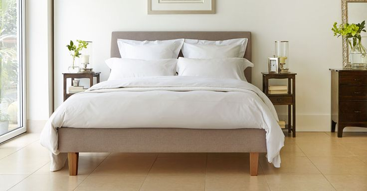 Our Santa Maria is a classic looking bed made from resilient fabric to really soften your bedroom look. Match your bed with a variety of our sleek furniture styles. Choose any of our nine fabulous fabric colours and complete the look of your bedroom.