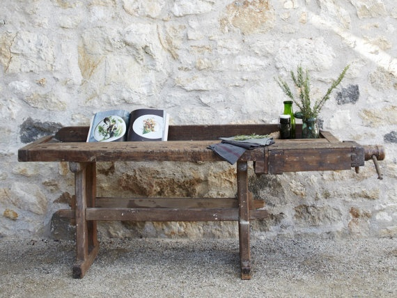 Vintage Carpenter Table