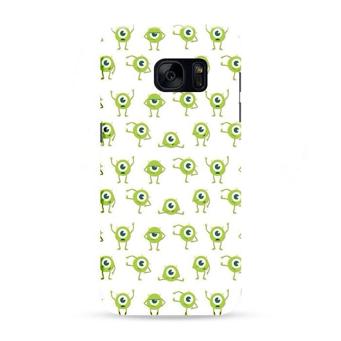 Mike Wallpaper Monsters Inc Samsung Galaxy S7 Edge 3D Case