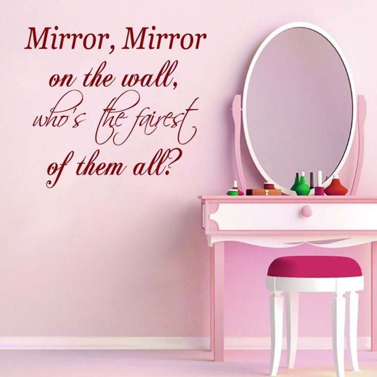 Mirror Mirror On The Wall Quote – Quote wall are the decorative wordand attractive image that can be applied to walls in thin sheets of vinyl decals. It is possible to create your own through your own creations or choose from a variety of existing models. Their site easily available and not permanent fixtures on […] Tags:  mirror mirror on the wall quote, mirror mirror on the wall quotes, cute mirror quotes, snow white mirror mirror on the wall quote, mirror mi