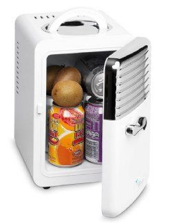A desk fridge is a cute and nifty gift for him while he is at the office busy making money!