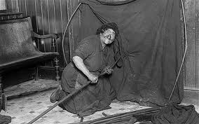 Female East End London Chimney sweep, what a character.