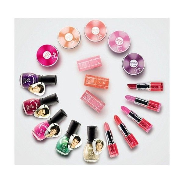 One Direction lanza una línea de maquillaje - Espectáculos - ❤ liked on Polyvore featuring beauty products, one direction, makeup, beauty and 1d
