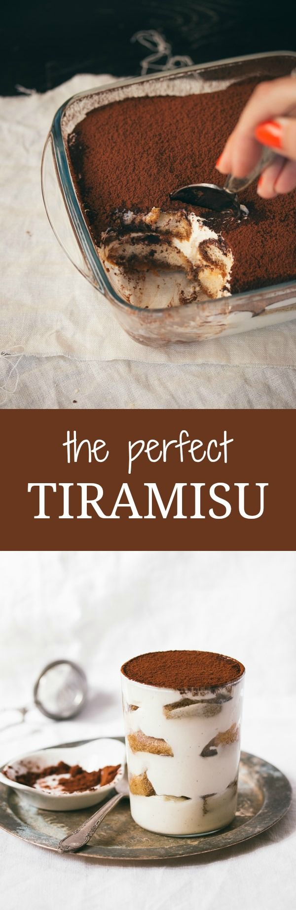 The Perfect Tiramisu | prettysimplesweet.com