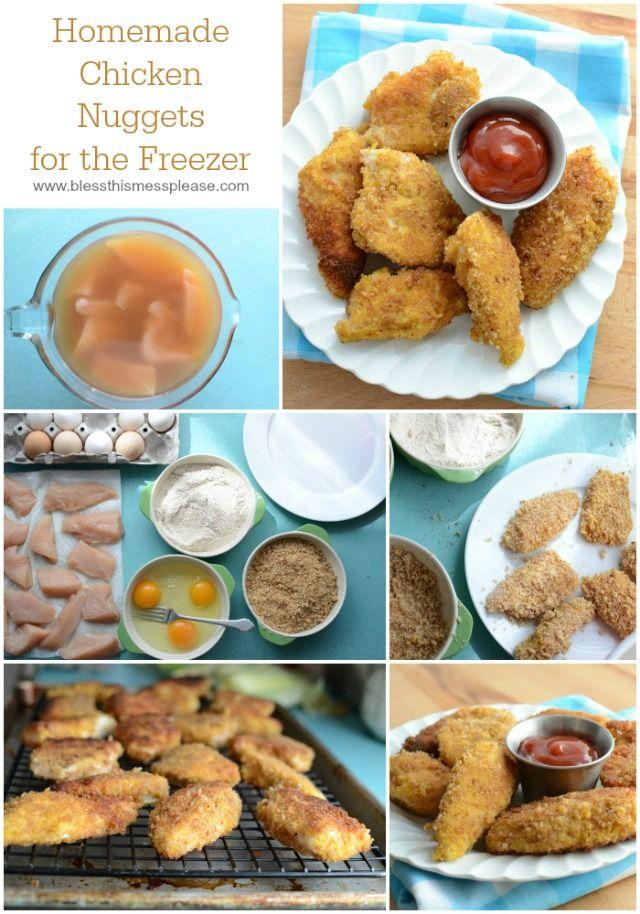 Gluten Free Breaded Chicken Breast Nuggets