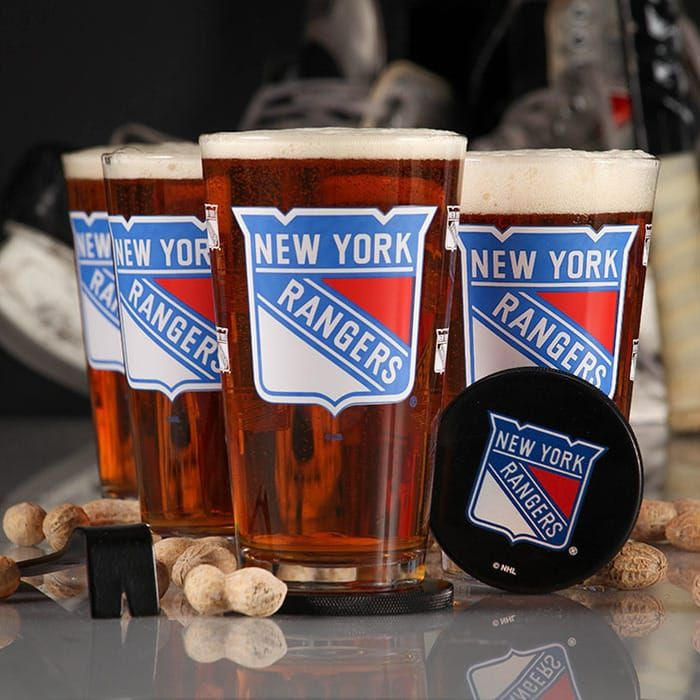 Image result for NY Rangers barware