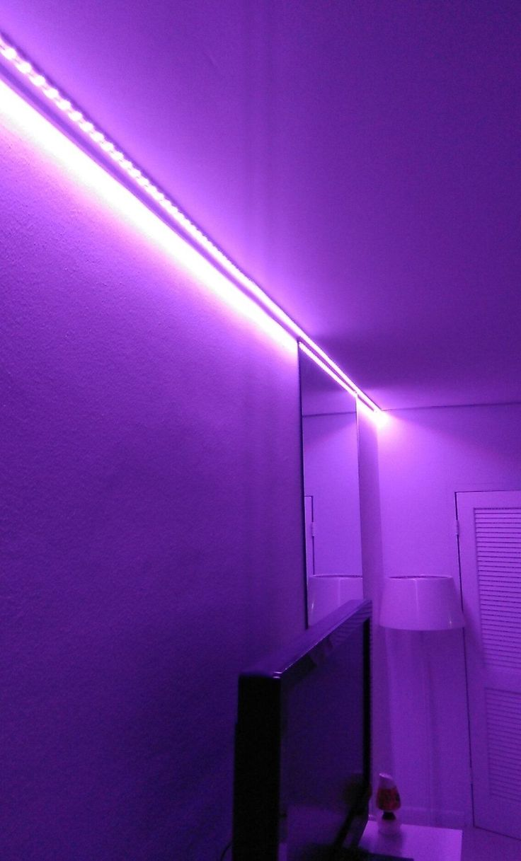 lights led changing remote bedroom strip control tik tok lighting rooms tiktok aesthetic feet walls included lamp strips decoration purple