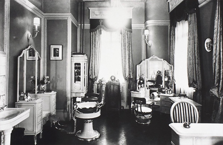 Shiseido beauty salon store's interior, 1937