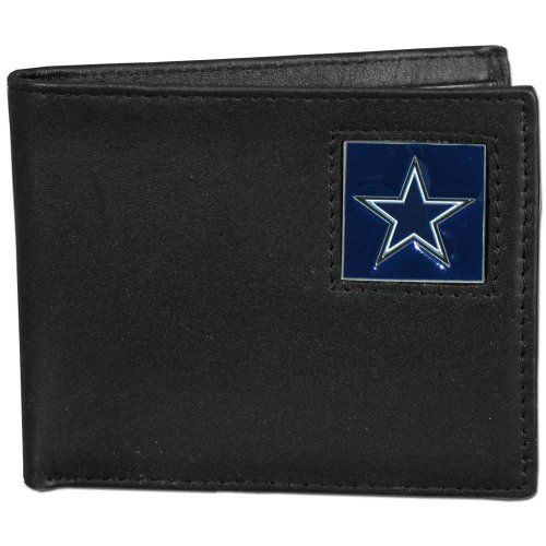 NFL Dallas Cowboys Leather Bifold Wallet >>> To view further for this item, visit the image link.