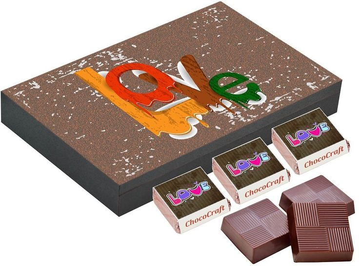 Cute gifts for girlfriend   Personalised chocolate