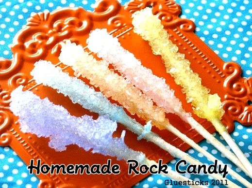Homemade Rock Candy! How fun!!!