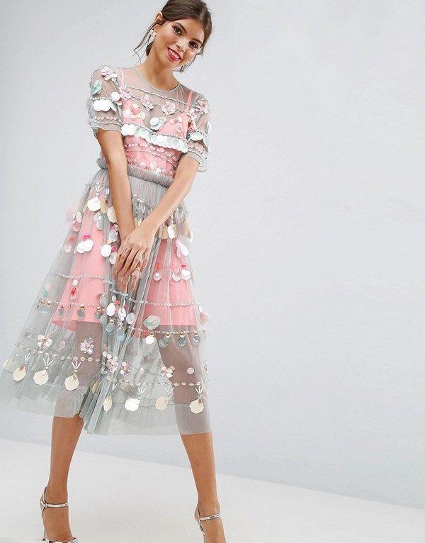 146df5fa057 Модные короткие платья 2018-2019 года