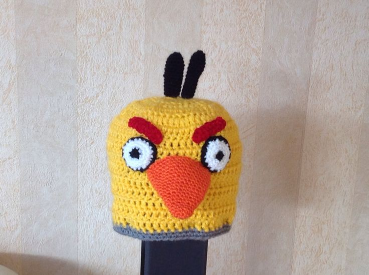 Angry bird hat Colin