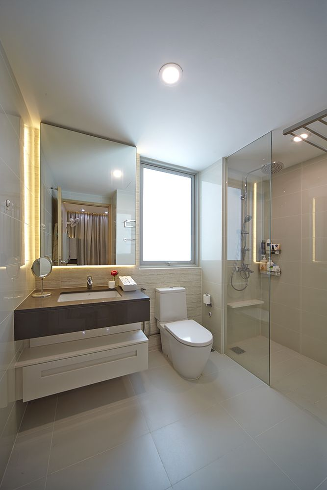 Is the deluxe bathroom on your super luxury yacht an for Bathroom design ideas singapore