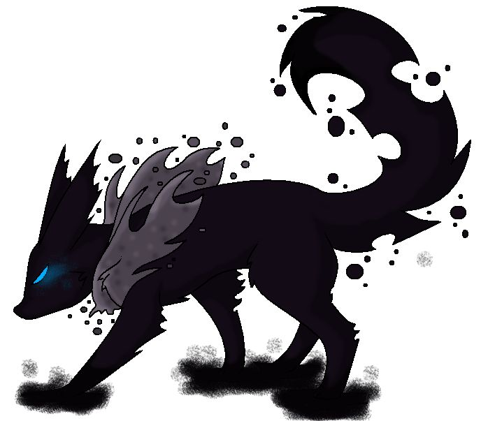 Xeneon Ghost Dark Eevee Evolution By Tyler Louise151