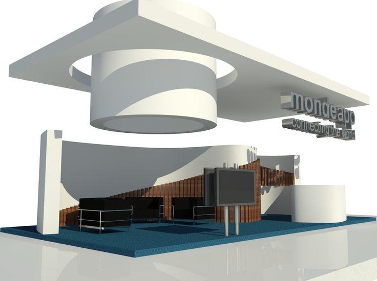 Stand Mondeapp. Fitur. QIDStudio Artur Fuster Architects