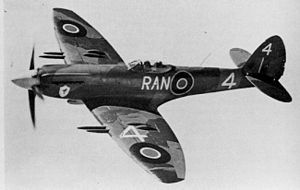 27 November 1941 First flight Supermarine SpitfireMk IV with Rolls Royce Griffon engine