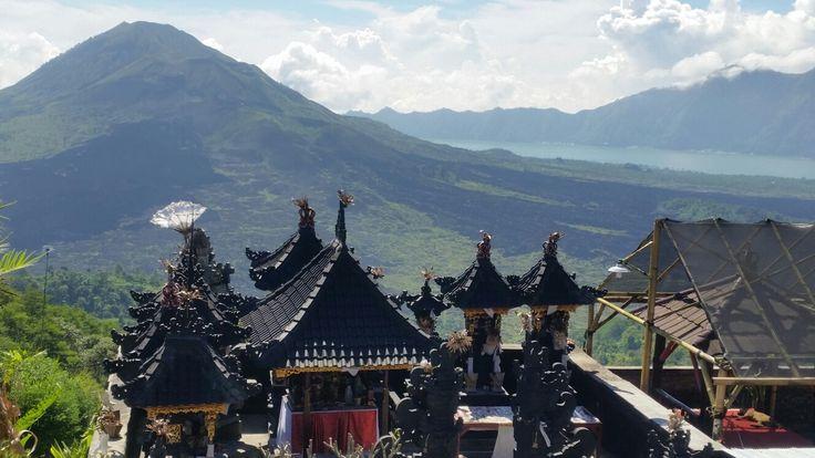 Gunung Batur from Kintamani