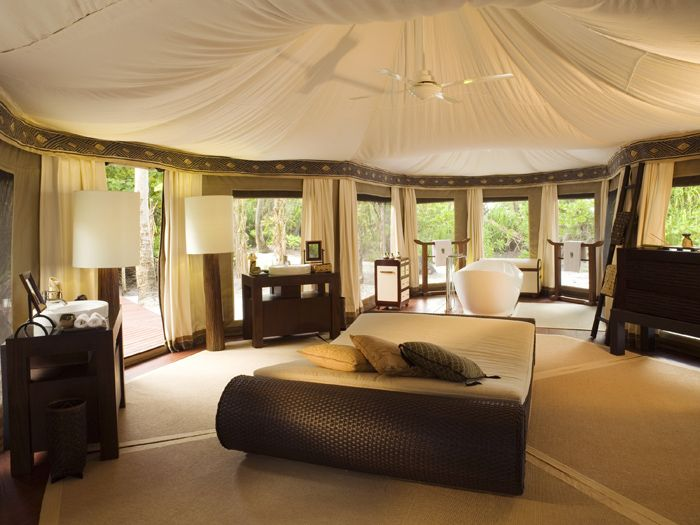 Fish Eagle Tent - Ultra Luxury African Canvas Safari Tents, Eco-Lodges, Island Dwellings and Resort Tents