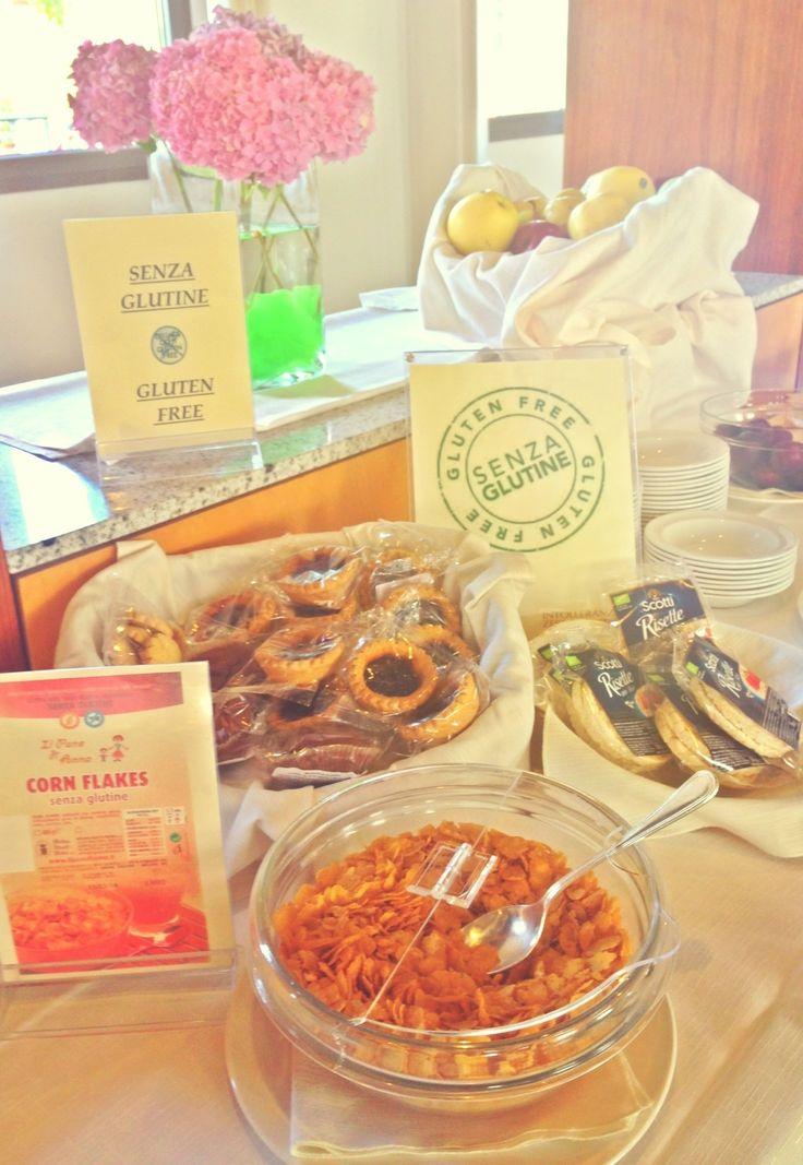 Hotel Filanda - Gluten Free Breakfast Area  #hotelfilanda #glutenfree #cittadella #padova #italy #padua