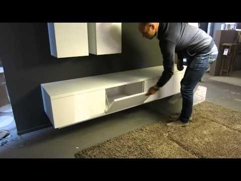 Tv-dressoir hoogglans wit HO-19 | Zen Lifestyle