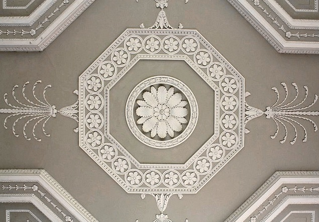 Entrance Hall Ceiling - Osterly House - Middlesex  Robert Adam