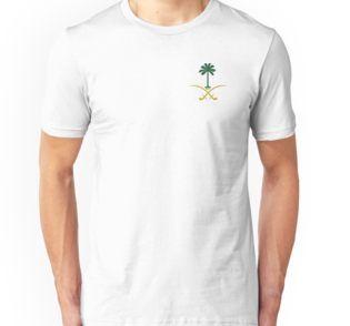 Ksa Logo Saudi Arabia Logo Private Sticker Shirt Iphone Case السعودية سيفين ونخلة خاص كفر ايفون جديد شعار السعوديه المملكه تيشيرت سيفين T Shirt Shirts Slim Fit