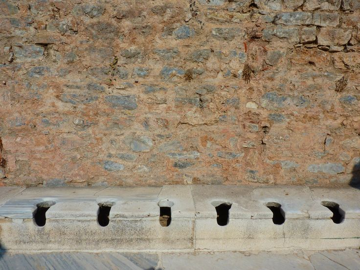 A look at the ancient public toilets of Ephesus in the 'Toilets Around the World' series.