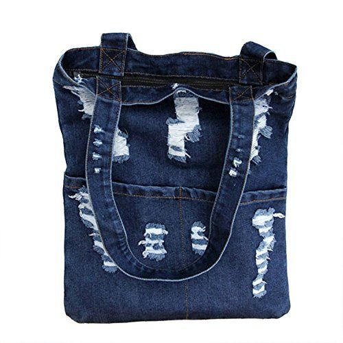 New Trending Shopper Bags: Manka Vesa Women Canvas Bag Denim Tote Shoulder Shopping Bag Handbag Pockets Navy blue. Manka Vesa Women Canvas Bag Denim Tote Shoulder Shopping Bag Handbag Pockets Navy blue  Special Offer: $10.99  211 Reviews Package Quality:1   Color:Navy blue/Light blue Key features of Manka Vesa Bag: 1.shoulder bag is made of high quality denim materials,which is comfortable for you...