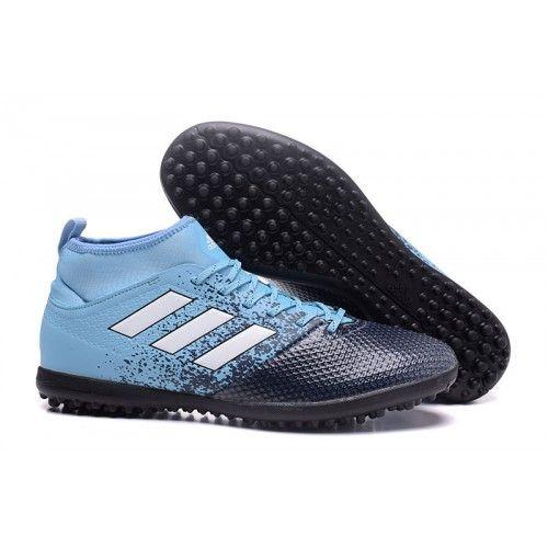 2017 Adidas ACE 17.3 TF Botas De Futbol Azul Negro