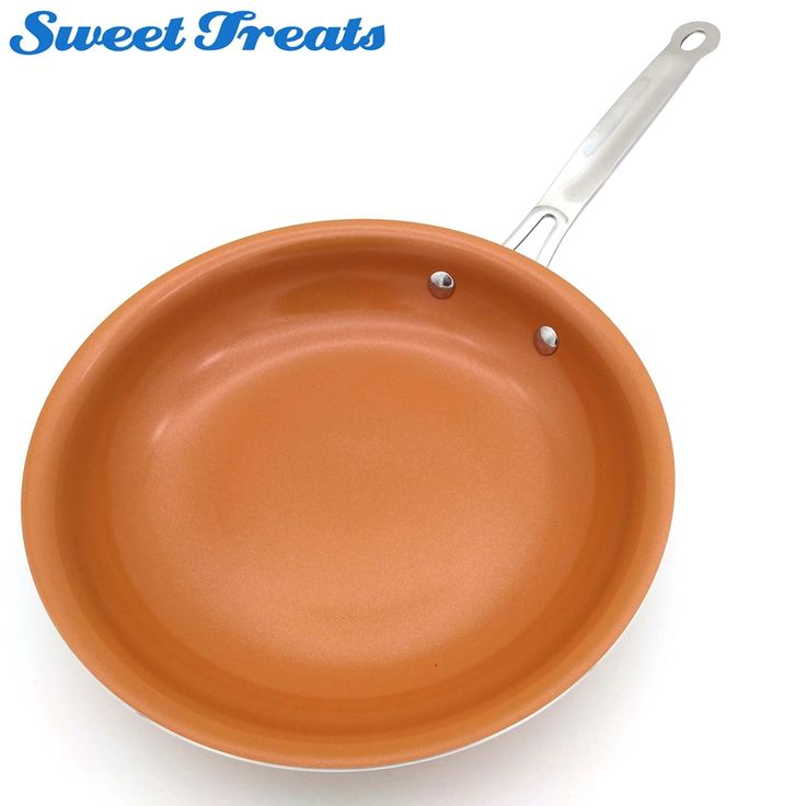 Cheap frying pan, Buy Quality copper frying pans directly from China non-stick frying pan Suppliers: Sweettreats Non-stick Copper Frying Pan with Ceramic Coating and Induction cooking,Oven & Dishwasher safe
