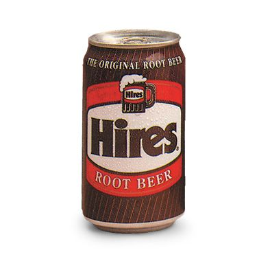 """Hires """"The Original Root Beer"""" (so we'll make an exception to the 'bottle' category)"""