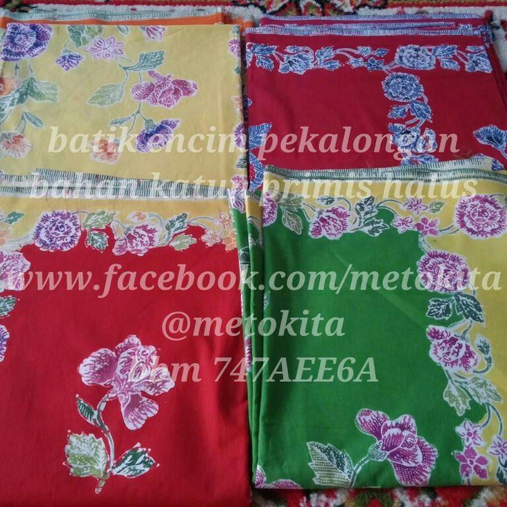 Batik encim pekalongan Bahan katun primis halus Like us on www.facebook.com/metokita Twitter/instagram @metokita Bbm 747AEE6A  #batik #encim #pekalongan #loveindonesia #indofashion #fashion #art #beautiful #ethnic